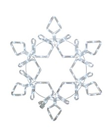 LED Rope Light Snowflake Commercial Christmas Decoration