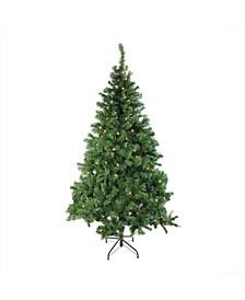 Pre-Lit Mixed Classic Pine Medium Artificial Christmas Tree