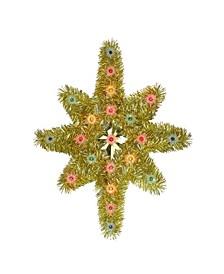 Lighted Star of Bethlehem Christmas Tree Topper-Multi-Colour Lights