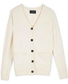 Lucky Brand Classic Button-Front Cardigan Sweater