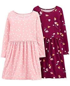 Big Girl  2-Pack Jersey Dresses