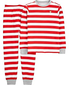 Toddler  Boy or Girl 2-Piece Adult Christmas Thermal PJs