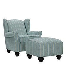 Hermosa Chair and Ottoman Set