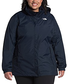 Plus Size Resolve Waterproof Zip-Up Jacket