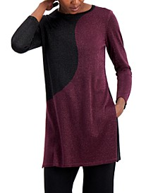 Colorblock Tunic Sweater, Created for Macy's