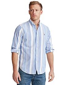 Men's Classic-Fit Striped Shirt