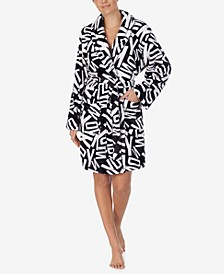 Plush Logo Cozy Wrap Robe