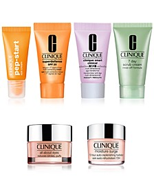 Choose Two Skincare Samples with any $85 Clinique purchase!