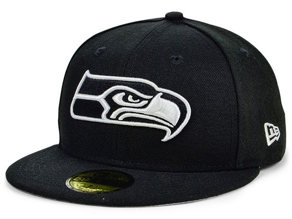 Lids New Era Seattle Seahawks Basic Fashion 59FIFTY FITTED Cap