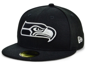 New Era Seattle Seahawks Basic Fashion 59FIFTY Fitted Cap