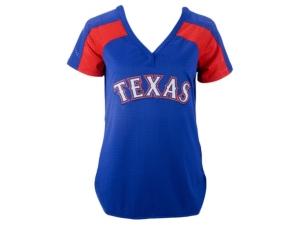 Authentic Apparel Texas Rangers Women's League Diva T-Shirt