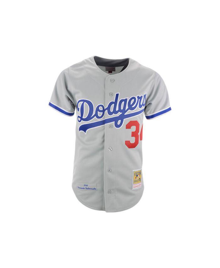 Mitchell & Ness Los Angeles Dodgers Men's Authentic Cooperstown Jersey Fernando Valenzuela & Reviews - Sports Fan Shop By Lids - Men - Macy's