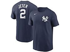New York Yankees Men's Coop Name and Number Player T-Shirt Derek Jeter