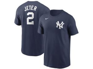 Nike New York Yankees Men's Coop Name and Number Player T-Shirt Derek Jeter