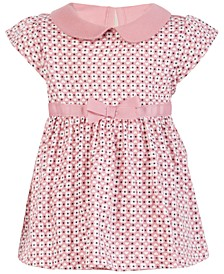 Baby Girls Geo Floral Sunsuit, Created for Macy's