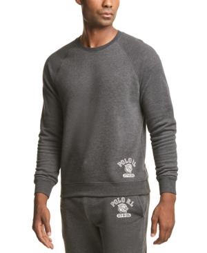 Polo Ralph Lauren Men's Brushed Fleece Sleep Shirt