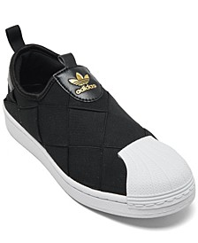Women's Superstar Slip On Casual Sneakers from Finish Line