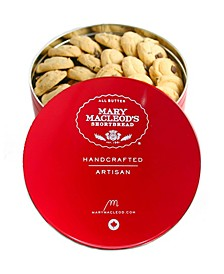 Medium Gift Tin of Chocolate Crunch Shortbread, 31 Count