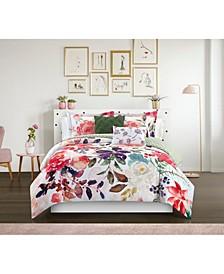 Philia 9 Piece Queen Comforter Set