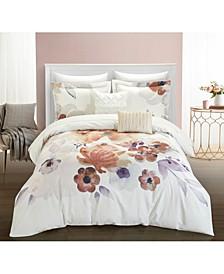 Riverside Park 9 Piece Queen Comforter Set