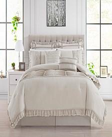 Yvette 12 Piece Queen Comforter Set
