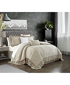 Kensley 9 Piece King Comforter Set
