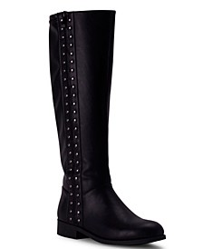 Women's Sidecar Studded Riding Boots