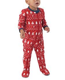 Matching Baby Holiday Minions Family Pajama One Piece