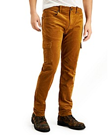 INC Men's Cord Cargo Pants, Created for Macy's