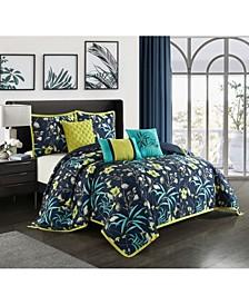 Rio 6-Piece Queen Comforter Set