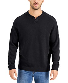 Men's Flipshore Abaco Reversible Split-Neck Sweatshirt