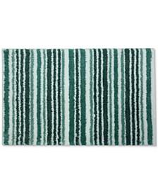 "Elite Tri-Stripe 19"" x 34"" Bath Rug, Created for Macy's"