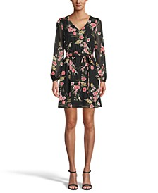 Printed Chiffon Dress, Created for Macy's