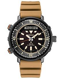 Men's Solar Analog-Digital Prospex Silicone Strap Watch 47.8mm