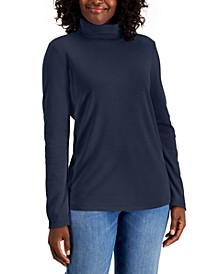 Petite Long-Sleeve Turtleneck, Created for Macy's