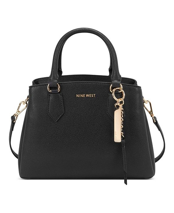 Nine West Rose Jet Set Satchel