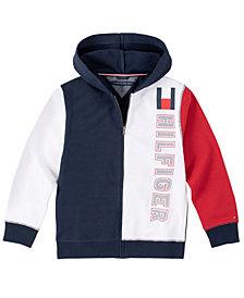 Tommy Hilfiger Big Boys Color-block Full Zip Hoodie