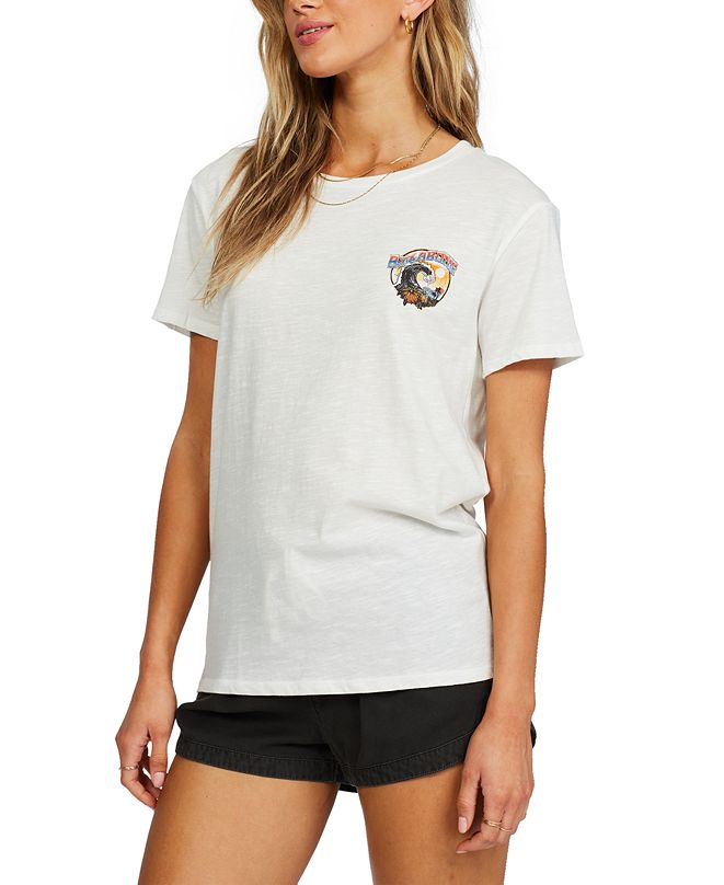 Billabong Juniors' Rock The Wave Cotton Graphic T-Shirt