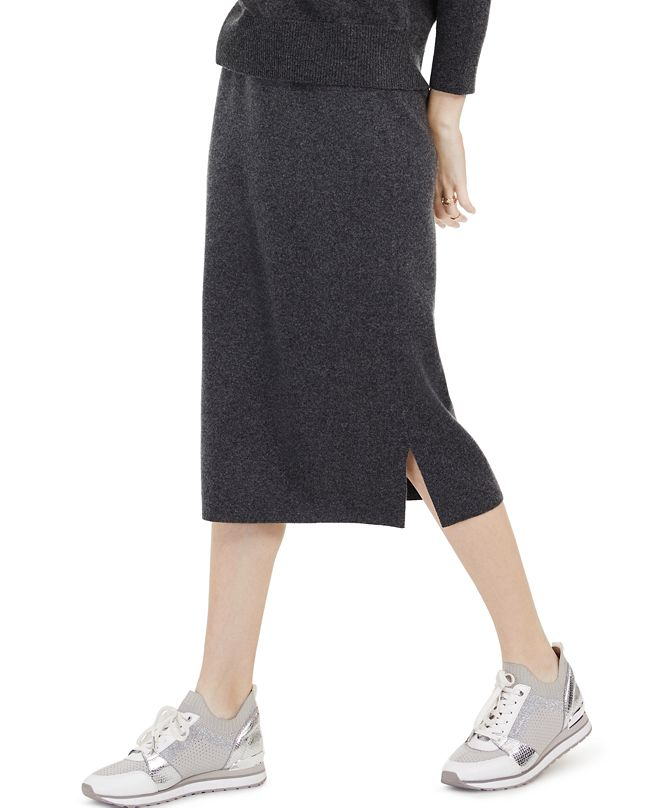 Charter Club Straight-Fit Cashmere Pull-On Skirt, Created for Macy's