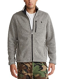 Men's Fleece Mockneck Jacket
