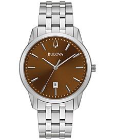 Men's Classic Sutton Stainless Steel Bracelet Watch 40mm