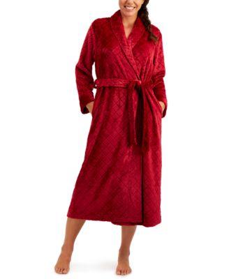 Long Diamond Cozy Robe, Created for Macy's
