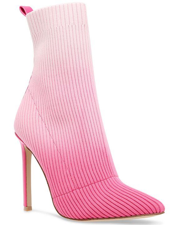 Steve Madden Women's Dianne Knit Stiletto Booties