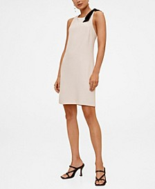 Women's Contrast Detail Dress