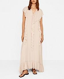 Women's Ruffles Flowy Dress