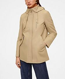 Women's Hooded Cotton Parka Coat