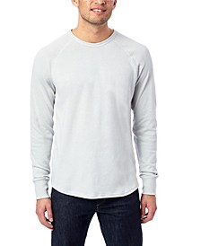 Men's Kickback Vintage-like Heavy Knit Pullover Sweatshirt