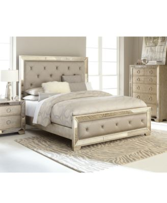 Ailey Queen Pc Bedroom Set Bed Nightstand Chest