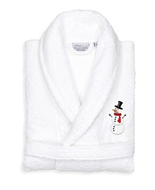 Embroidered Terry Bath Robe Collection