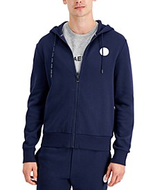 Men's Classic-Fit Taped Hoodie, Created for Macy's